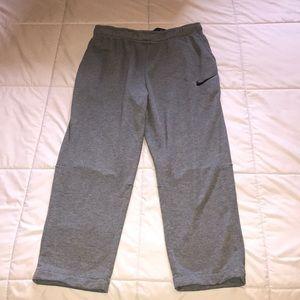 Like new, Nike DriFit sweat pants